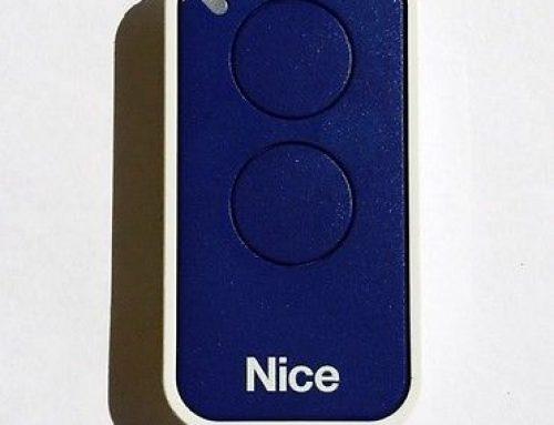 NICE El sistema de mando universal, para cada tipo de puerta y puerta de garaje