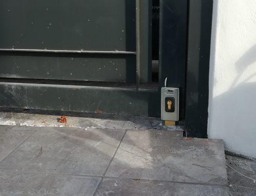 Como cambiar cerradura puerta garaje