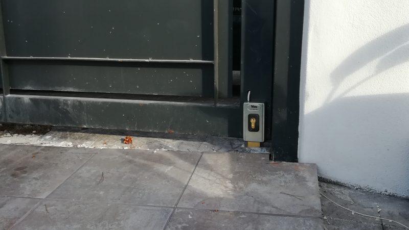 cerradura puerta de garaje
