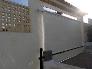 Puerta Corredera Aluminio en Soldado Alicante 3