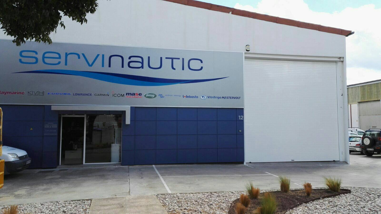 Puerta enrollable industrial collabaix Alicante