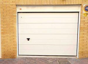 Puerta garaje Seccional Novoferm ISO45 Blanco Alicante