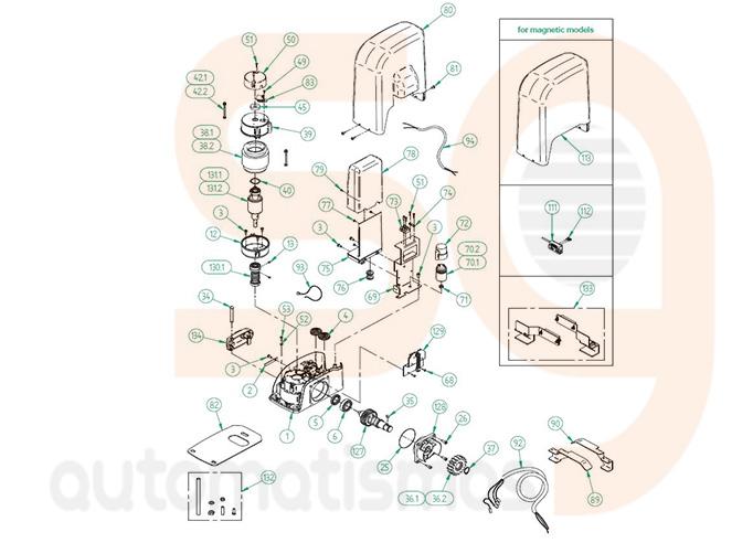 Despiece-Livi-Dea-System